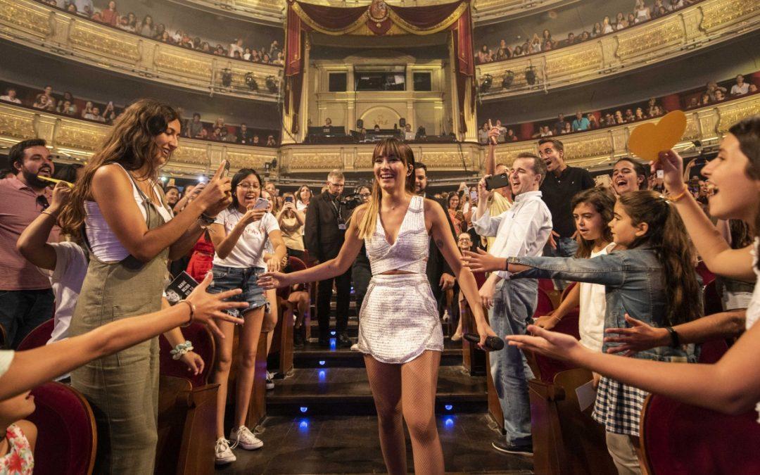 Aitana se queda con el corazón de Madrid