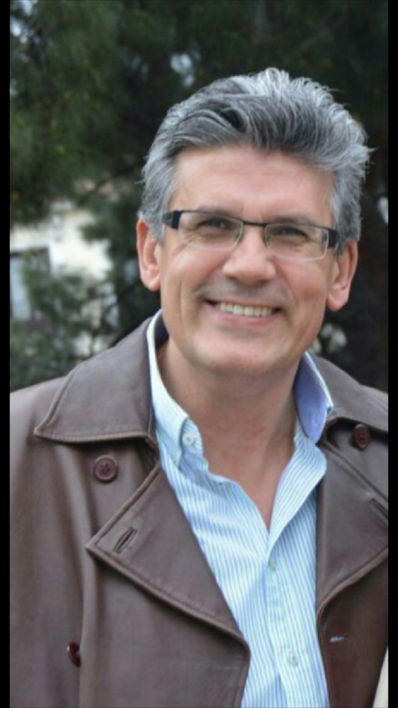 Juan Francisco Sánchez Hernández, autor de la novela