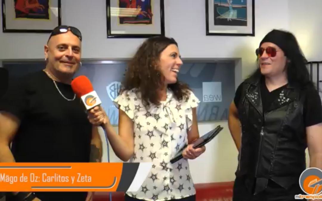 Entrevista al grupo Mago de Oz: Zeta y Carlitos.