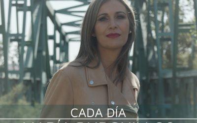 María Burguillos se sube a Mi Trampolín para presentar 'Cada día' su último trabajo