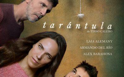 """""""Tarántula"""", la obra de Tirso Calero, que te atrapa en la butaca"""